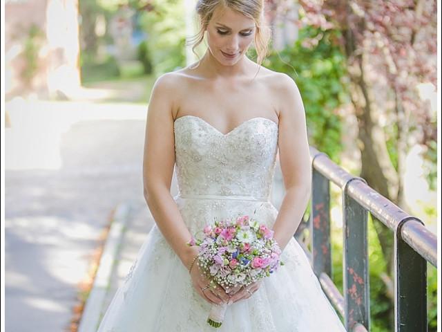 Ein so wunderschönes Hochzeitspaar …